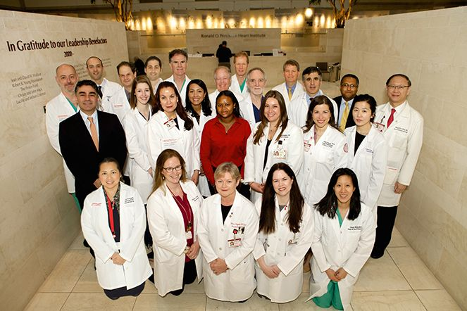 Staff at the William Acquavella Heart Valve Center.